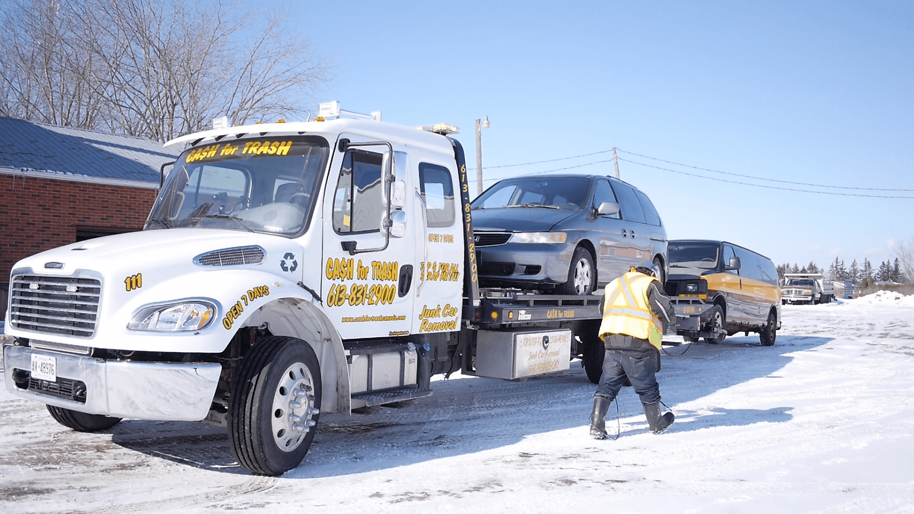 Scrap Car Removal and Scrap Metal Recycling in Ottawa | Cash