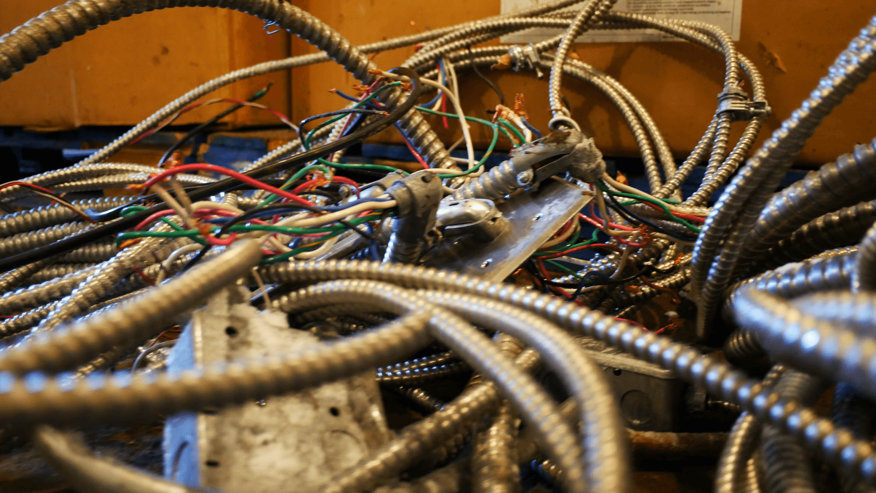 Steel BX Cable Recycling