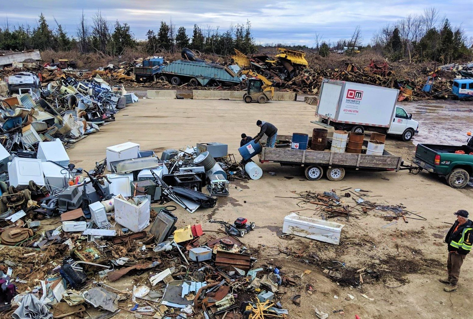 Ottawa Scrap Metal Recycling Yard